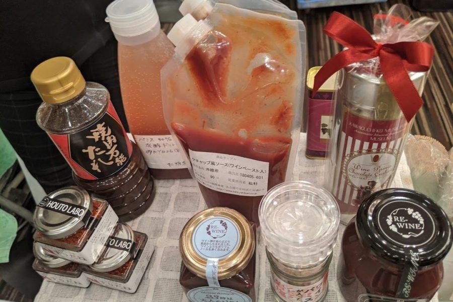 ワインパミス ソース タレ 香辛料 塩 ジャム チョコレート ケチャップ 乳酸菌飲料